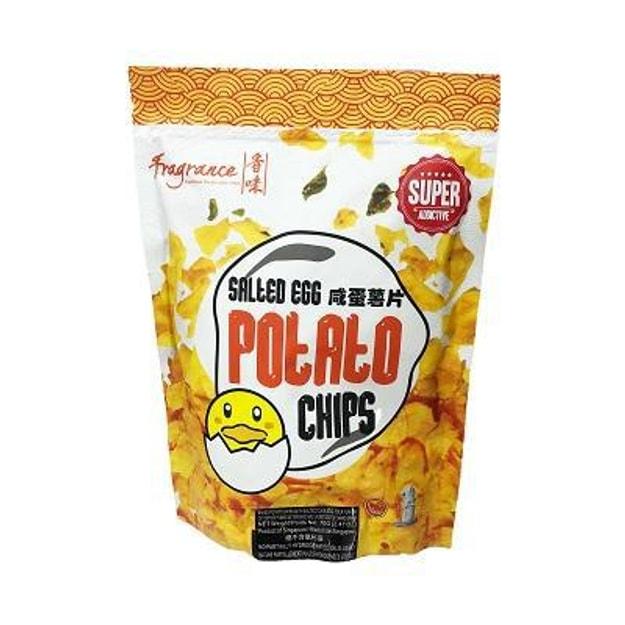 商品详情 - 香味 咸蛋薯片 70g - image  0