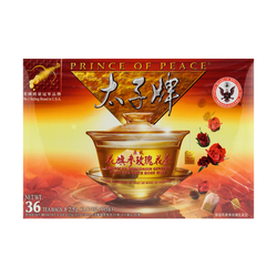 Prince of Peace American Ginseng with Rose 36 Tea Bags