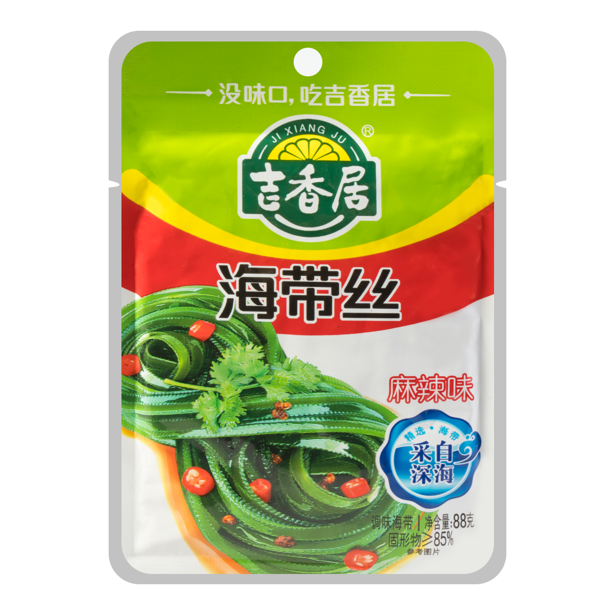 Yamibuy.com:Customer reviews:JIXIANGJU Sheredded Kelp in Spicy 88g