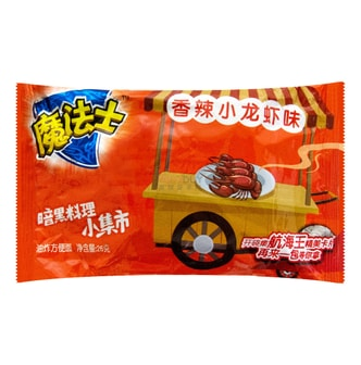 MOFASHI Noodle Snack Spicy Crawfish Flavor 24g