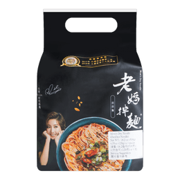 Mom's Dry Noodle Traditional Dandan Noodle 4pack 536g