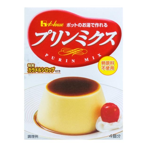 商品详情 - 日本HOUSE DIY焦糖布丁粉 原味 4份装 77g - image  0