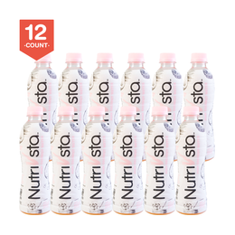 NUTRIVSTA 100% Natural Pink Coconut Water 340ml * 12 Pack of 12