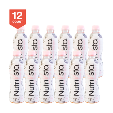 【Value Set】NUTRIVSTA 100% Natural Pink Coconut Water 340ml * 12 Pack of 12