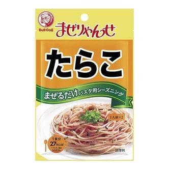 日本BULL DOG 鳕鱼子意面拌料 18g 方便快捷低卡路里