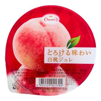 日本TARAMI 味系列白桃果肉果冻 210g