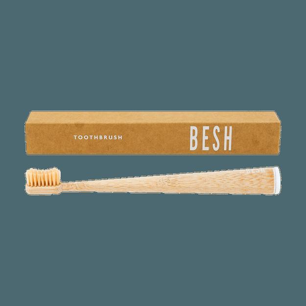 Product Detail - Natural Bamboo Toothbrush, Medium Bristle - image  0