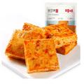[中国直邮]百草味 BE&CHEERY 鲜弹鱼豆腐185g 四川网红街头小吃 香辣味 1袋装
