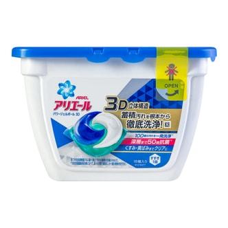 日本P&G宝洁 三合一杀菌室内凉干消臭啫喱凝珠洗衣球 #淡雅清香 18粒 356g