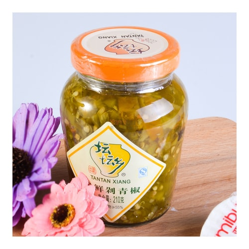 TANTANXIANG Green Pickled Chili Peppers 210g - Yamibuy.com