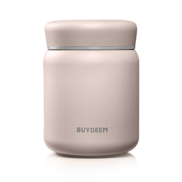 BUYDEEM Vacuum Insulated Stainless Steel thermo food jar pink 460ml
