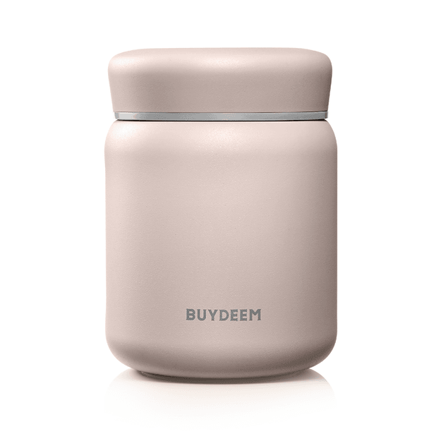 Product Detail - BUYDEEM Vacuum Insulated Stainless Steel thermo food jar pink 460ml - image  0