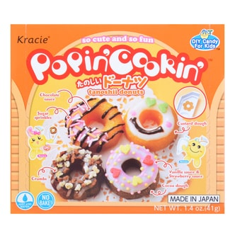 KRACIE Popin' Cookin'Kit Soft Donuts DIY Candy 41g