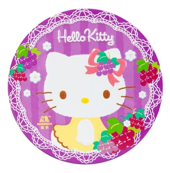 日本MORINAGA森永 HELLO KITTY香甜粒舒糖 盒装 葡萄味 45g