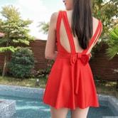 【韩国直邮】CHERRYKOKO sexy swimsuit red free