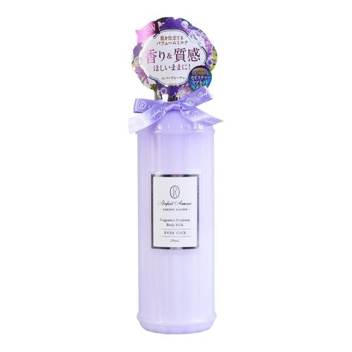 parfait amour savon fragrance premium body milk evervoce 250ml