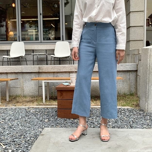 Product Detail - CHERRYKOKO long pants skyblue free - image 0
