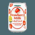 日本SANGARIA 红茶姬 草莓牛奶 265ml 美版
