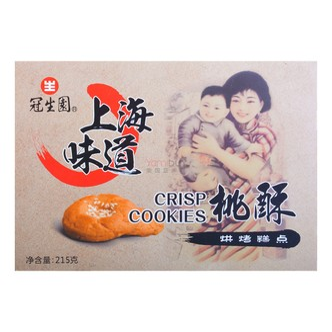 上海冠生园 上海味道 桃酥 215g