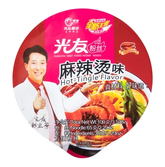 GUANGYOU Sweet Potato Instant Noodle Hot-Tingle Flavor 100g