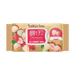 MORNING FACE MASK PREMIUM WHITE STRAWBERRY