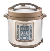 【Clearance】AROMA Digital Pressure Cooker and Multi Rice Cooker 20 Cups MTC-8016 6 Quart