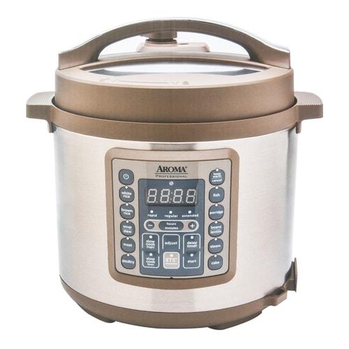 aroma digital pressure cooker and multi rice cooker 20 cups mtc 8016 6 quart. Black Bedroom Furniture Sets. Home Design Ideas