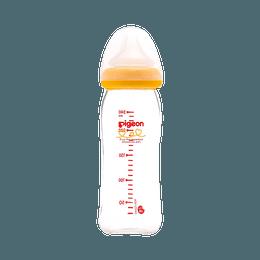 PIGEON 贝亲||宽口径耐热玻璃奶瓶||240ML