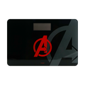 Marvel Bathroom Body Weight Measurement Scale #Black-Avenger