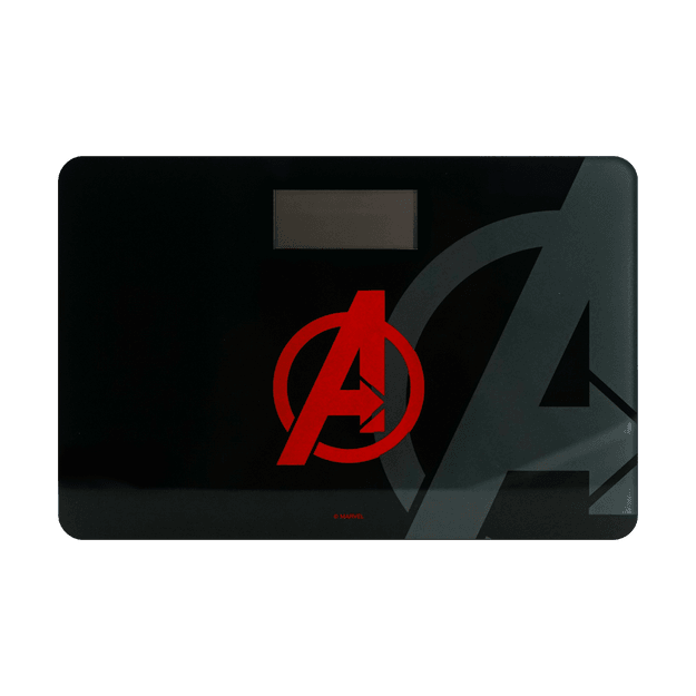 Product Detail - Marvel Bathroom Body Weight Measurement Scale #Black-Avenger - image  0