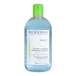 BIODERMA SEBIUM H2O Purifying Cleansing Micelle Solution For Combination to Oily Skin 500ml