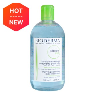 BIODERMA SEBIUM H2O Purifying Cleansing Micelle Solution 500ml