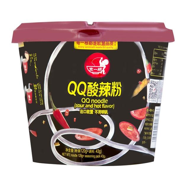 Product Detail - JINGYIGEN QQ Noodle Sour and Hot Flavor 163g - image 0