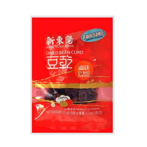 商品详情 - 台湾新东阳 卤味豆干 非基因改造黄豆使用 100g - image  0