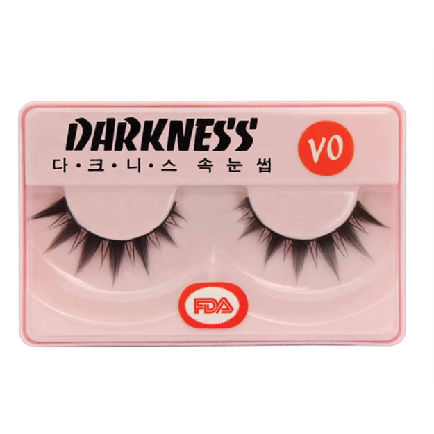 Product Detail - DARKNESS False Eyelashes #VO 1Pair In 1Box - image 0