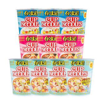Nissin Instant Noodles Package 10 cups