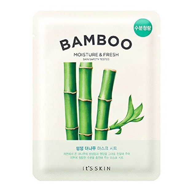 Product Detail - IT\'S SKIN Bamboo Moisture&Fresh Mask Sheet 1pc - image 0