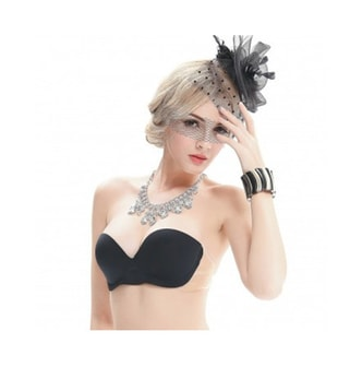 VSTYLE Miss Double Invisible Invisairpad Bra Black Color Size D