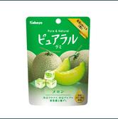 【日本直邮】日本KABAYA 夕张哈密瓜果汁夹心QQ软糖 45g