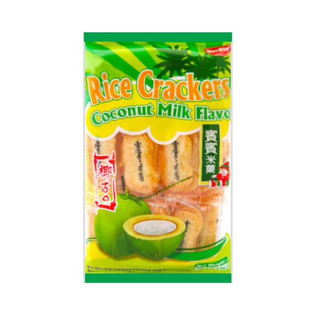 商品详情 - 南侨 宾宾 香脆椰子米果 仙贝 椰奶口味 150g - image  0