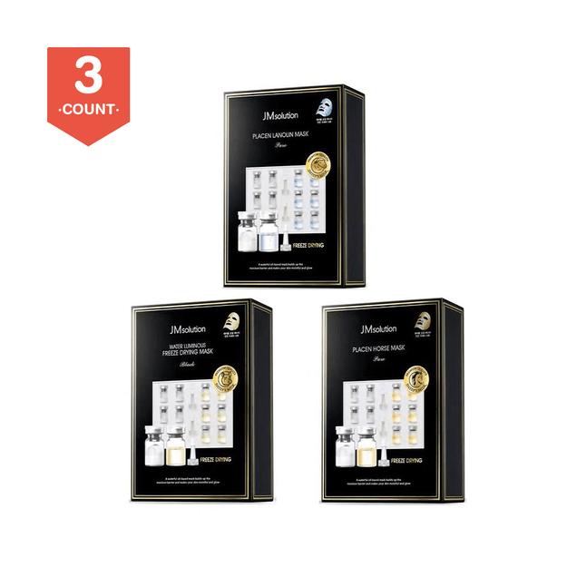 Product Detail - JM SOLUTION New Placen Masks Gift Package 3Packs - image 0