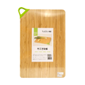 SUNCHA Bamboo Chopping Board Carbonized Mao Bamboo 45x30x1.7cm #Large Size
