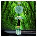 中国专线直邮 时效5-12天RAMBLE 汽车挂件水晶葫芦貔貅挂饰绿玉莲花车载吊坠平安车内挂件貔貅  佛抱貔貅 一件