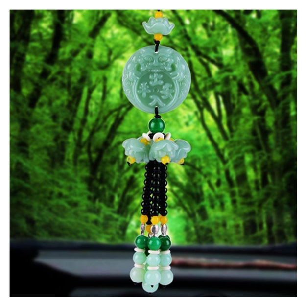Product Detail - RAMBLE Car Pendant Crystal Gourd Pendant Hanging Ornament Auto Interior Rear View Mirror Decor Dangle Trim CRPA 1 pcs - image 0