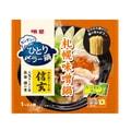 【日本直邮】 日本明星食品  日本超有名北海道信玄拉面监制 札幌味噌锅拉面汤底带速食面 1包装