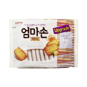 韩国LOTTE乐天 妈妈手派 千层酥饼干 大包装 254g