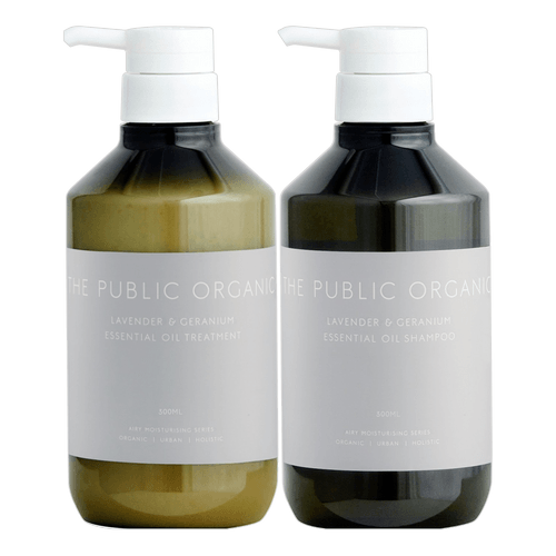 THE PUBLIC ORGANIC Super Relax Shampoo and Conditioner Set