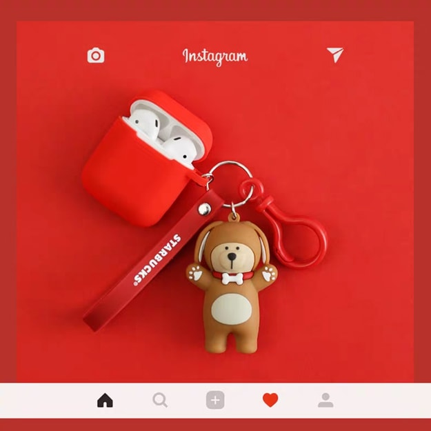 Product Detail - CHANGQI Starbucks Bear Boy Airpods Cover Little bear - image 0