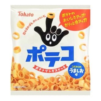 TOHATO Potato Ring Cracker Sea Salt Flavor 78g