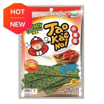 泰国小老板 厚片脆海苔 辣香味 32g